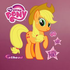 Hasbro My Little Pony - Applejack Peel and Stick Wall Decal