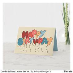 Happy Birthday Cards Handmade, Creative Birthday Cards, Simple Birthday Cards, Homemade Birthday Cards, Birthday Cards For Friends, Happy Birthday Signs, Funny Birthday Cards, Card Birthday, Blue Birthday