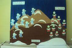 ομαδικη εργασια 28th October, Preschool, Projects To Try, Day, Classroom Ideas, Kids, Autumn, Young Children, Boys