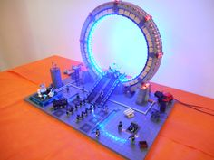 Star Gate in mattoncini LEGO® PisaBrickArt 2016 Revolution