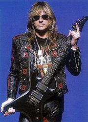 Glenn Tipton Family | glenn tipton stats home and family early bands gear guest appearances ... 80s Hair Metal, Metal Horns, Famous Musicians, Judas Priest, Music Guitar, Cool Bands, Hard Rock, Rock N Roll, Heavy Metal