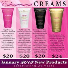Not in the Mood? Stressed or to Tired? Pure Romance to the Rescue. Message me, email me at prpartiesbycindy@yahoo.com