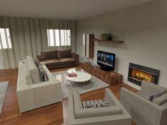 Ambiente Sala de Estar e Jantar - CBH - CBhome Móveis sofás Medida decoração