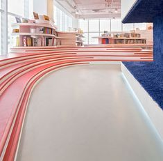 Family Box: A Kindergarten and An Indoor Playground for Children Architecture Restaurant, Interior Architecture, Kids Indoor Playground, Children Playground, Playground Ideas, Kindergarten Design, Kids Cafe, Modern Entry, Space Interiors