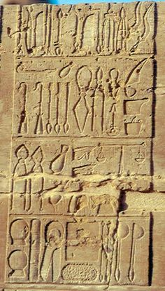 Egyptian Medical Instruments