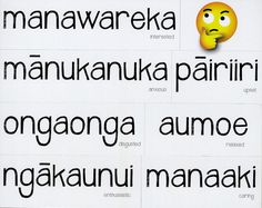 Common emotions are written in Te Reo and come in a handy magnetic form for easy classroom use. The English equivalent is shown underneath and emoji faces are included as an extra way to enforce each emotion. Emoji Faces, Teaching Resources, Magnets, Classroom, Writing, Feelings, Maori, Class Room, Being A Writer