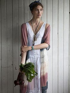 Free People Victoria Buttonfront Maxi