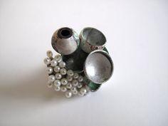 Hege Osdalen - ring - Argent / perles d'eau douce