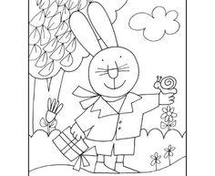 giulio coniglio colorare disegnidacolorare disegnare
