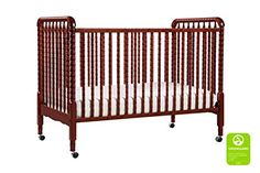 Bright and bold, the Jenny Lind Convertible Crib from DaVinci adds feminine flair to your little girl's nursery. In a nod to classic crib design, it sits on wheels and converts to a toddler bed and daybed (conversion kit sold separately). Toddler Furniture, Nursery Furniture, Nursery Rugs, Funky Furniture, Rustic Furniture, Nursery Decor, Jenny Lind Crib, Best Crib, Baby Boy