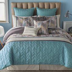 Bryan Keith Zabriskie Point Reversible Comforter Set in Sand