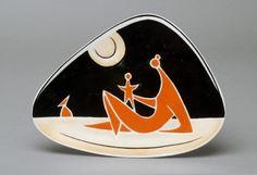 Háromszögletű (zöldséges) tál - anya gyermekével Design, Ceramic Sculpture, Ceramics, Clay, Art, Art Deco, Pottery Art, Vintage Porcelain, Vintage