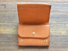 小型のマチ付き二つ折り財布(GS-15) | Organ(オルガン)