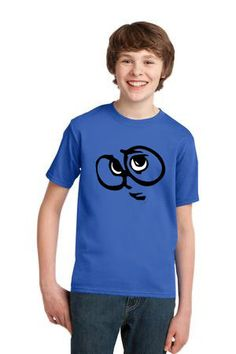 Inside Out kids t-shirt sadness inside out tee by theshirtzink