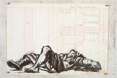 William Kentridge, Remus, drawing for Triumphs and Laments. Courtesy the artist.