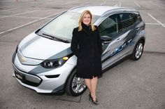 Pam Fletcher, Chevy Bolt, Interview with Pam Fletcher, GM head of electric car engineering, executive engineer of electric cars, GM chief engineer, female executive GM