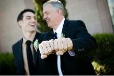Great Father and Son Photo - add it to your list of must have photos for your wedding day