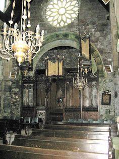 Organ in Dunfermline Abbey