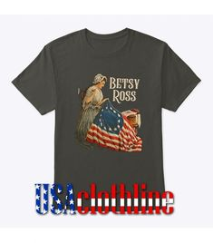 About Betsy Ross American Handmade T-Shirt.This T-shirt is Made To Order, we print one by one so we can control the quality. We use DTG Technology. Barcelona Fc Logo, Direct To Garment Printer, American, Mens Tops, T Shirt, Handmade, Supreme T Shirt, Tee Shirt, Hand Made