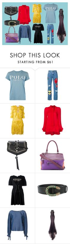 """Just check it"" by mkrish ❤ liked on Polyvore featuring Polo Ralph Lauren, House of Holland, Dsquared2, Haney, Jimmy Choo, Givenchy, Kenzo, Gucci, ZAC Zac Posen and Marchesa"