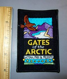 Gates of the Arctic Alaska Nat'l Park Embroidered patch