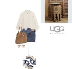 """Meet Me in Marrakech with UGG Australia"" by letterelle ❤ liked on Polyvore"