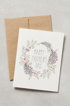Send a beautiful card day Xmas Cards, Holiday Cards, Greeting Cards, Mothers Day Crafts, Happy Mothers Day, Mom Birthday Gift, Birthday Cards, Ways To Say Hello, Pencil And Paper