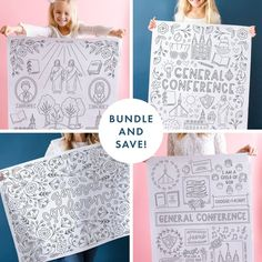 General Conference Activities For Kids, Conference Poster, Visiting Teaching Handouts, Responsibility Chart, Relief Society Activities, Chore Chart Kids, Engineer Prints, Primary Lessons, Chores For Kids