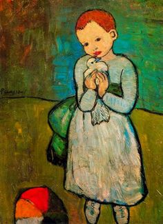 "Арт-журнал ""Диз"": Pablo Picasso - Child with Dove, 1901"