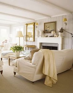 @Jill Graham  Another friend pinned this and it made me think of you.  *painted paneling