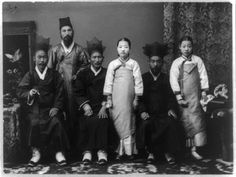 Korea in the Imperial Era and Japanese Occupation: Korean Family Portrait