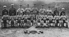 Trump on the New York Military Academy's baseball team, 1962. Trump is in the front row, third from the left.