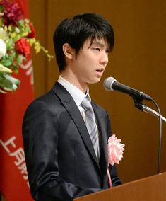 #Yuzuru #Hanyu at Kozuki sports award 2014, 2014/08/25
