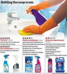 revealed the best bathroom cleaning products check out more fantastic tricks and tips for - Best Bathroom Cleaning Products