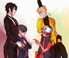Oh my god I am so happy I found this! These are my two top fandoms in a crossover!!!!❤️❤️❤️❤️