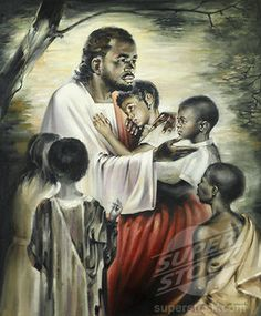 Religious imagery has dominated much of the history of art, leaving artists with the challenge of how to depict the face of Jesus Christ. Here's a look at how images of Jesus' face have changed over the centuries. Black Love Art, My Black Is Beautiful, Black Man, White Man, Simply Beautiful, Black Art Pictures, Black Jesus Pictures, Bless The Child, Jesus Face