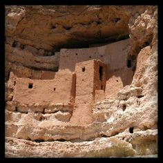Montezuma's Castle near Camp Verde, Az.