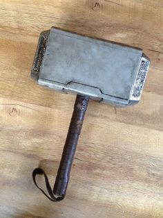 DIY Mjolnir (window display) http://www.instructables.com/id/Mjolnir-Thors-Hammer/