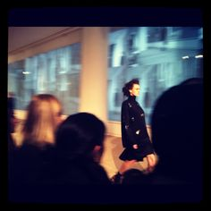 "@tmagazine Tweeted: ""View of @Cynthia_Rowley from packed bleacher seats. Show notes called the look ""baubled."" #NYFW"""