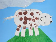 Creative art cow project
