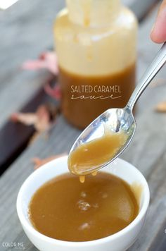 homemade salted caramel sauce | perfect for pancakes, ice cream, cheesecake and more!