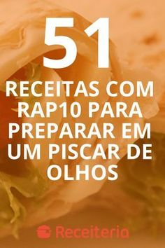 Pão sem glúten: 10 receitas deliciosas e fáceis de fazer Snack Recipes, Dinner Recipes, Snacks, Food Net, Carne, Chips, Food And Drink, Low Carb, Lunch