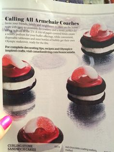 I think I'm gonna need to make these! New Recipes, Baking Recipes, Curls Rock, Birthday Boys, Disposable Tableware, Just Eat It, Curling, Olympics, Buffet