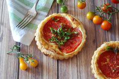 Tomato Ricotta Tarts