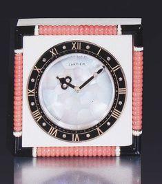 Cartier Art Deco Clock by Clive Kandel, via Flickr
