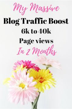 My blog traffic increased tremendously in the past couple months, and I go over exactly why.