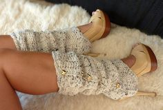 for some reason i like the leg warmers with the heels...?