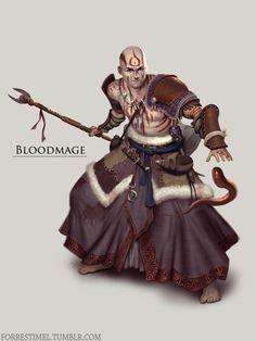 Bloodmage by ForrestImel