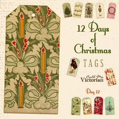 FREE PRINTABLES  12 days of christmas day 12