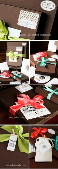 Likethe little clips with tags - PATTY K Packaging | Design | Patty K Photography & Design